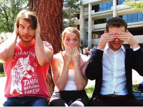 Adam Hagenbuch, Katie Leclerc, and Austin Cauldwell